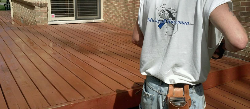 Northville Deck Staining Waterproofing