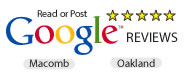 Review us on Google Macomb & Oakland County